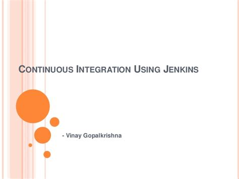 learning continuous integration with jenkins second edition a beginner s guide to implementing continuous integration and continuous delivery using jenkins 2 books continuous integration using jenkins