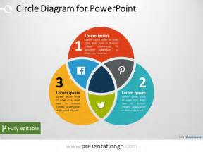 powerpoint venn diagram template 3 circle venn powerpoint diagram presentationgo