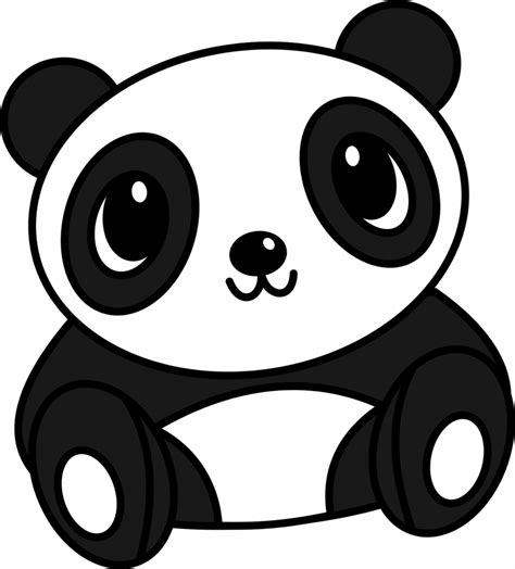 Panda Outline Drawing by Simple Panda Pictures To Pin On Pinsdaddy