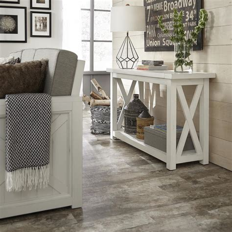 home styles seaside lodge hand rubbed white kitchen island home styles seaside lodge hand rubbed white console table