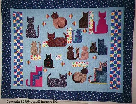 Free Cat Quilt Patterns by Cat Quilt Patterns Free 171 Design Patterns