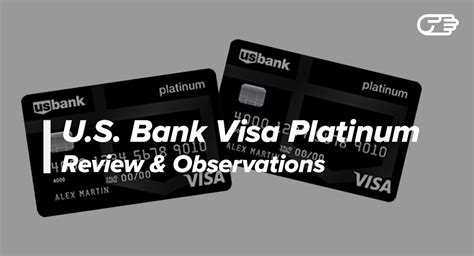 Us Bank Visa Gift Card My Account - u s bank visa platinum credit card reviews pros and cons