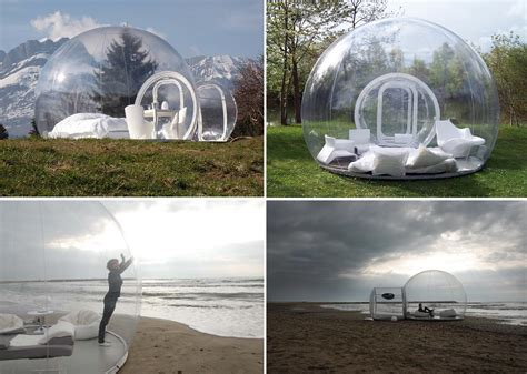bubble tent these awesome tents will turn you into a cer