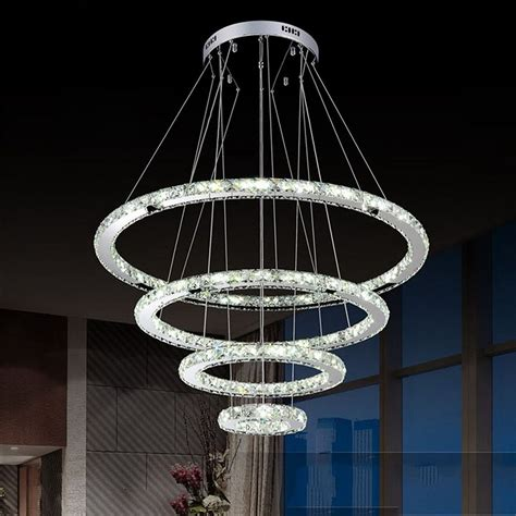 Raindrop Chandelier New Circle Pendant L Hanging Light Raindrop Chandelier Led Lighting Ebay
