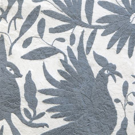 Otomi Coverlets Slate Grey L Aviva Home