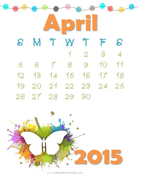 April May Calendar 2015 Amazing Calendar For Year 2015 Designs