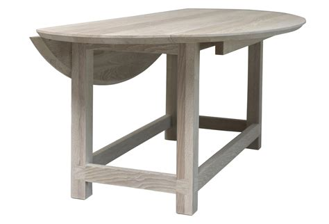 Gate Leg Dining Tables Bleached Oak Gate Leg Dining Table Or Console Omero Home