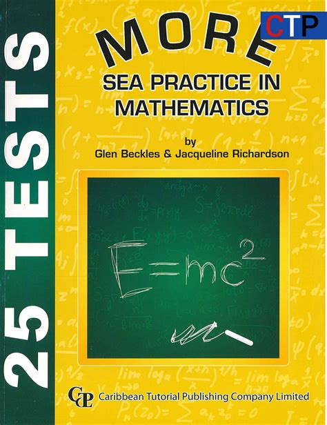 student workbook for mathematics 1446285944 more sea practice in mathematics answer sheets caribbean tutorial publishing company ltd