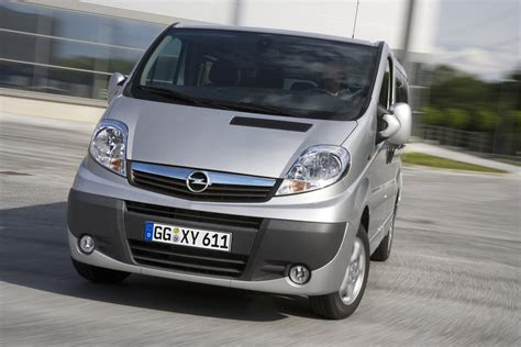 2009 opel vivaro technical specifications and data engine