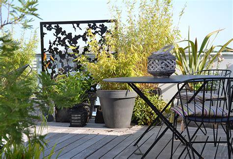 terrasse en vue brise vue terrasse palissadesign brise vue de terrasse