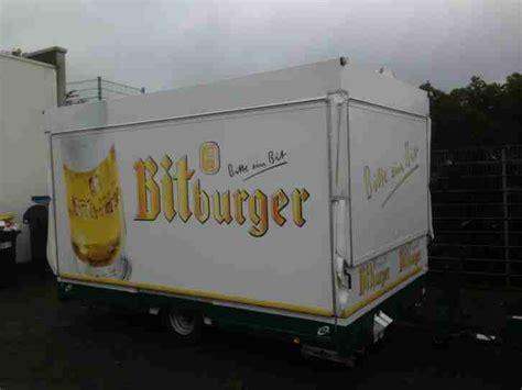 Firma Kaufen Ohne Eigenkapital by Ausschankwagen Bierwagen Im Bitburger Design