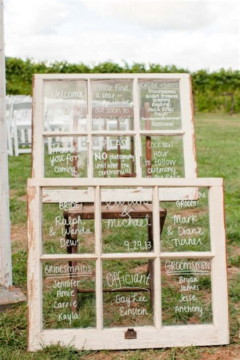 Wedding Window by The Best 20 Wedding Aisle Signs
