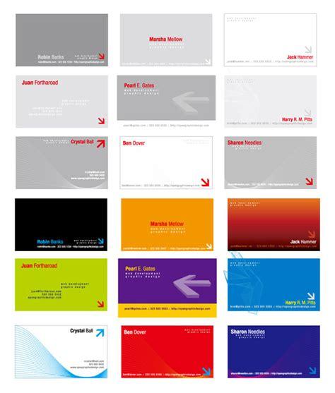 Visitenkarten Template Psd by Dreidimensionale Visitenkarte Templat Free Vector
