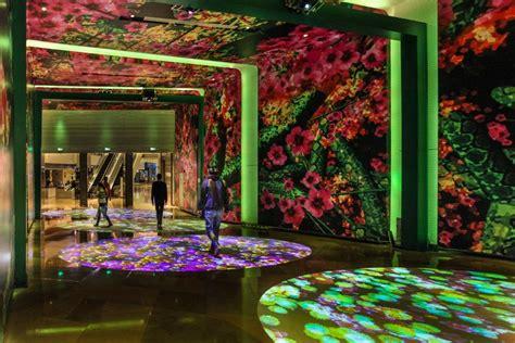 Jing Jing Garden by Miguel Chevalier S Power Flowers Create A Digital Garden