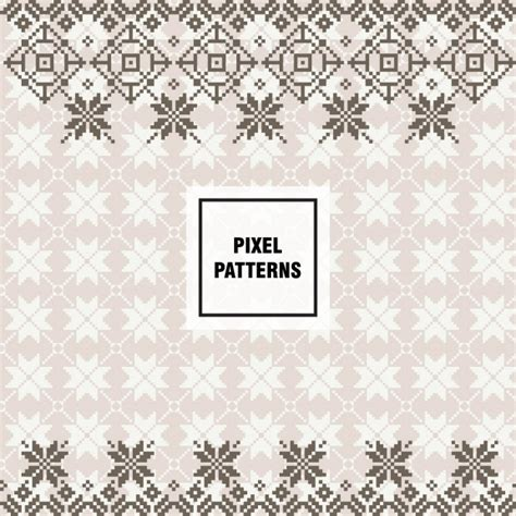 pixel pattern ai pixel pattern design vector free download