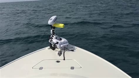 best offshore motor boats offshore trolling motor replaces anchor youtube