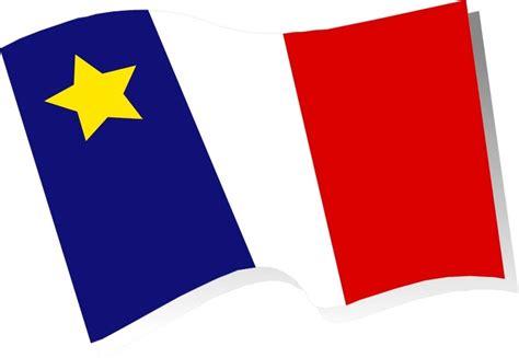 acadian flag my heritage flags