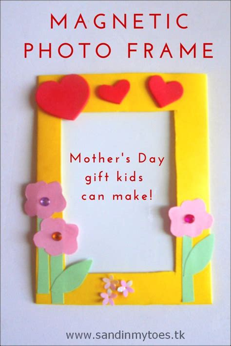 s day suggestions busy magnetic photo frames easy handmade gifts