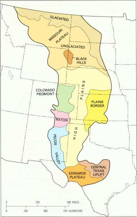 us physical map great plains thempfa org usgs geological survey bulletin 1493 contents