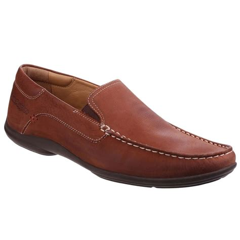 mens hush puppies loafers hush puppies kyler glide mens casual slip on loafers