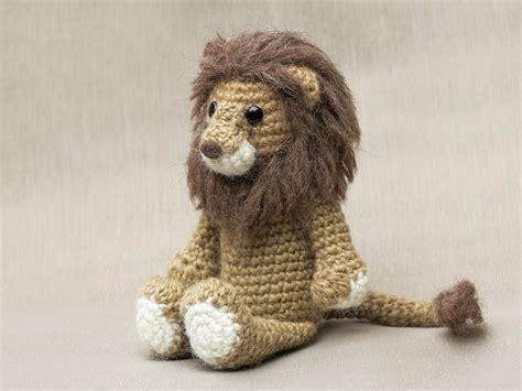 amigurumi pattern lion realistic crochet lion son s popkes