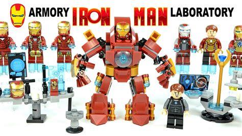 iron man suit armors mini builds laboratory