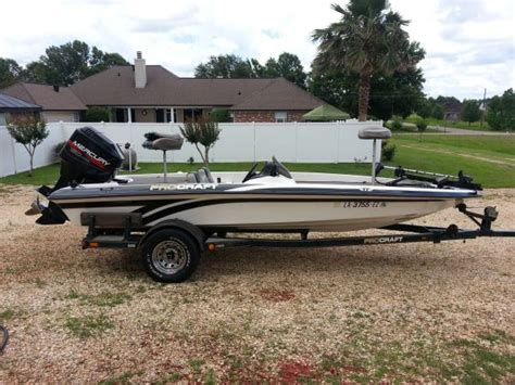 boats for sale on louisiana sportsman 1999 procraft 180 bass boat for sale in southeast