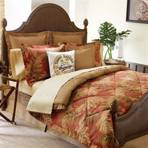tommy bahama comforter shop tommy bahama orange cay cotton bedding from beddingstyle