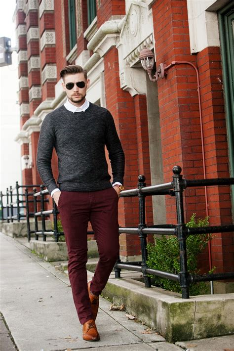mens casual fall sweater outfit idea unkept gentleman