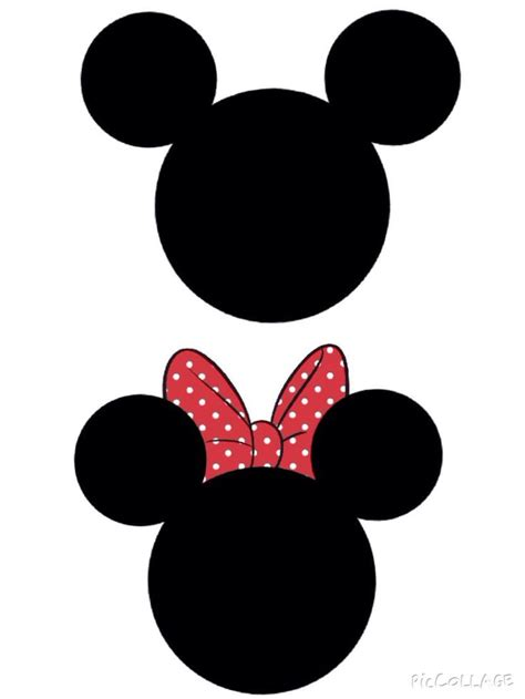 mickey template mickey and minnie template templates 2
