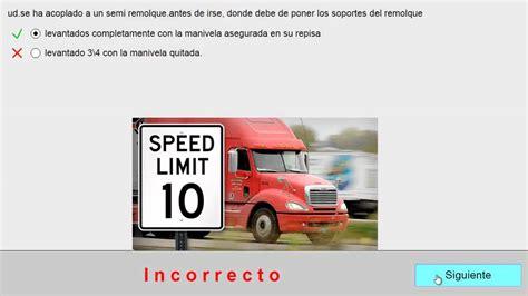 preguntas y respuestas para licencia cdl preguntas de la cdl licencia de camion conocimentos