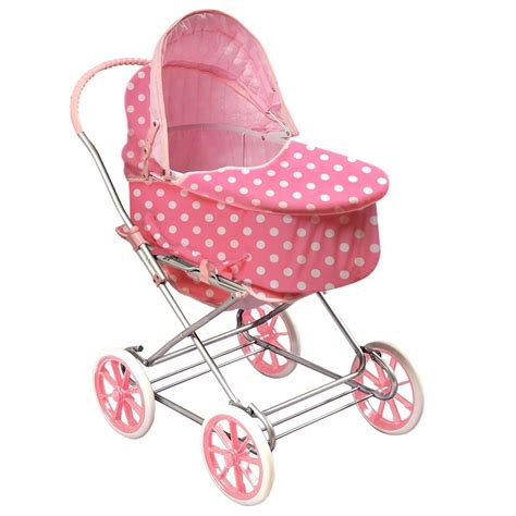 Setelan 3in1 Retro Pink are there gold rims on that doll pram shorts
