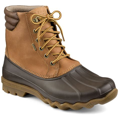 best duck boots sperry top sider s avenue insulated duck boots