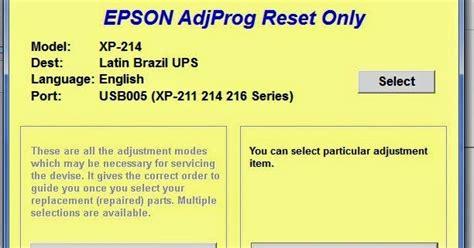 reset epson xp 211 almohadillas gratis reset ilimitados impresoras epson reset epson xp 211 xp
