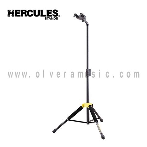 Stand Gitar Neck hercules gs414b single guitar stand with fixed neck olvera
