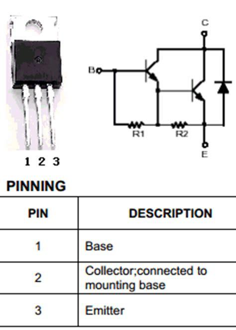 transistor darlington tip121 tip121 datasheet pdf savantic semiconductor
