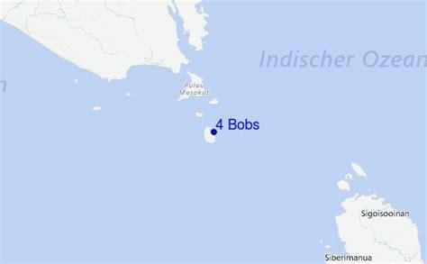 bob locations map 4 bobs pr 233 visions de surf et surf report mentawi islands
