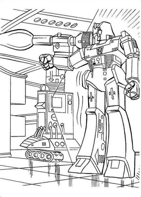 transformers animated coloring pages transformers 001 coloring page
