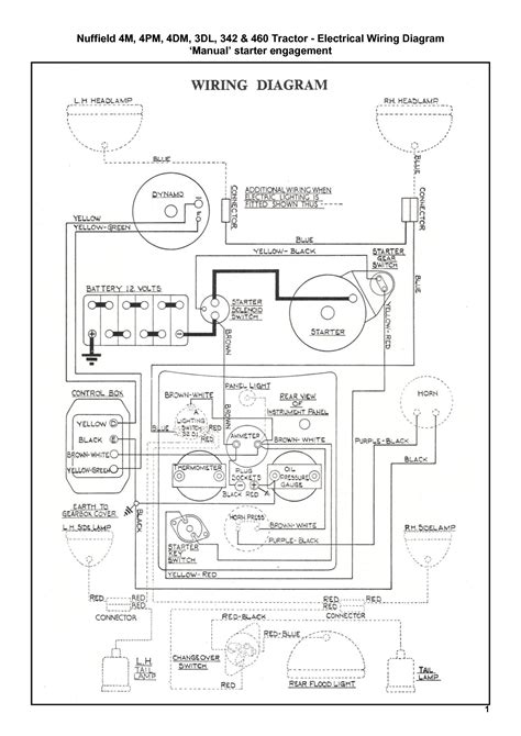 massey ferguson electrical diagram 4 best images of massey ferguson wiring diagram pdf