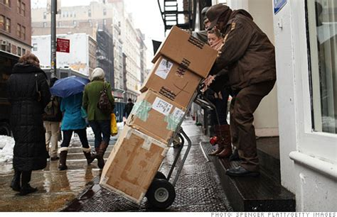 Temporary holiday hires by FedEx, UPS boost job number ... Ups Jobs Employment