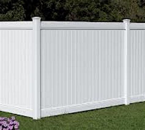 pvc plastic fence company privacy with accent the american fence company