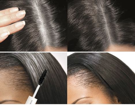 Types Of Grey Hair by Cover Your Gray Hair Instant Colour All Types Colours For