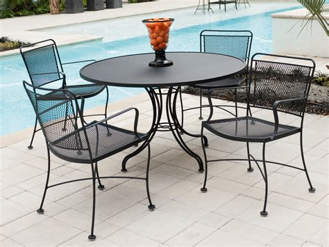 black iron outdoor table and chairs furniture outdoor top table with black iron