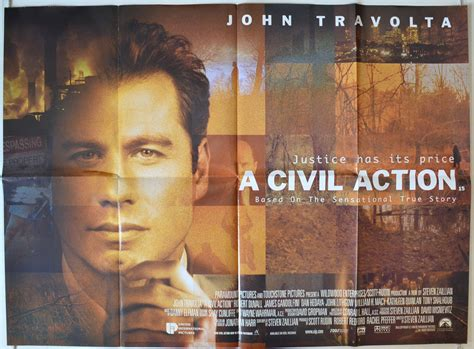 a civil action film questions a civil action original cinema movie poster from