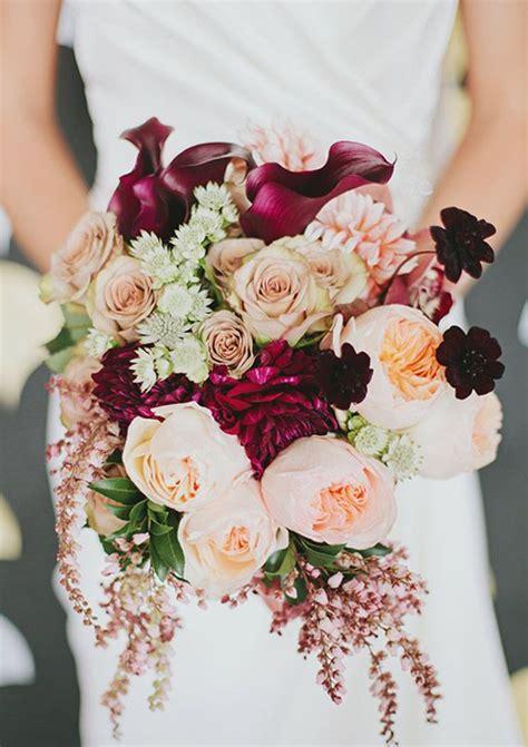 15 fall wedding bouquet ideas for autumn brides