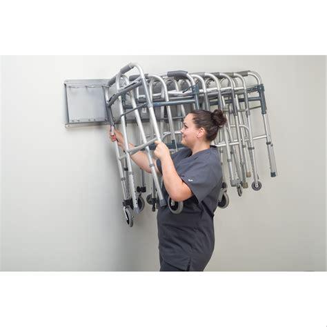folding walker storage rack marketlab