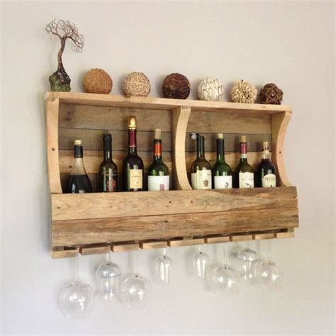How To Hang Pallet Wine Rack by 1000 Images About Reclaimed Wood Wine Rack On Wall Hangings Handmade And Glasses
