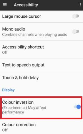 color inversion how to turn on color inversion pixel and pixel xl