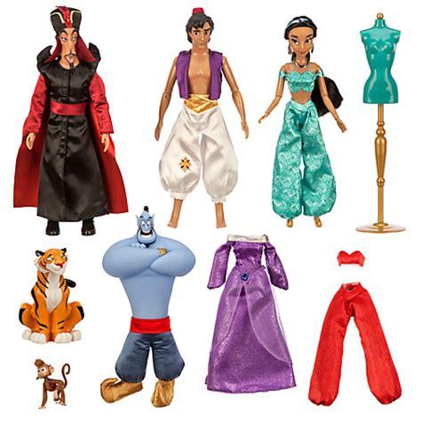 Disney Store Aladin Genie Teapot Set nib disney princess jafar genie deluxe doll gift set