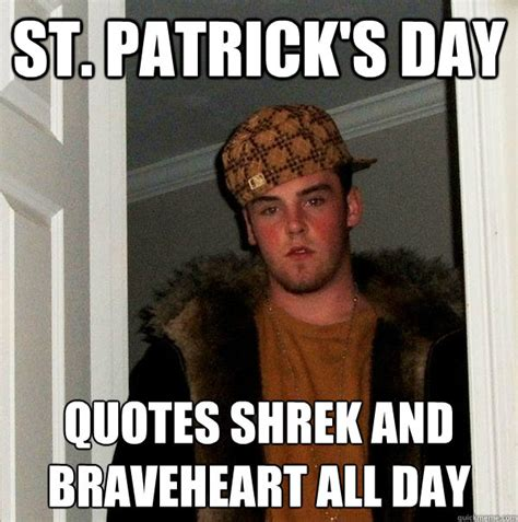 Grappige Memes - st patrick s day quotes shrek and braveheart all day
